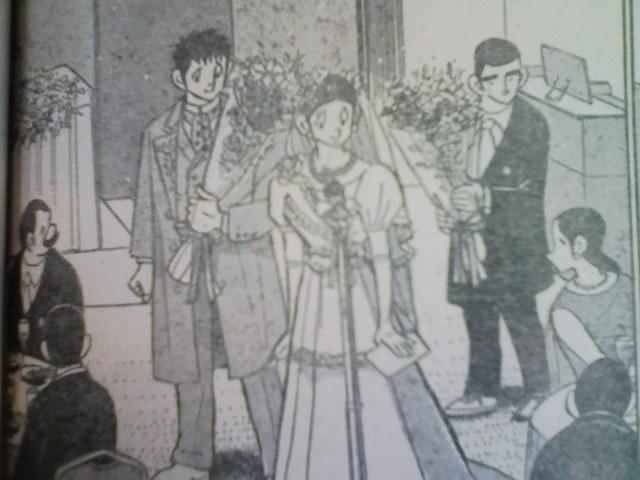 ドカベン 里中とサチ子結婚式